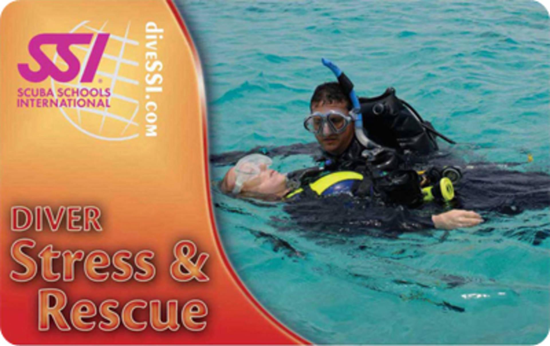 Stress and Rescue Spezialkurs SSI   Tauchausbildung